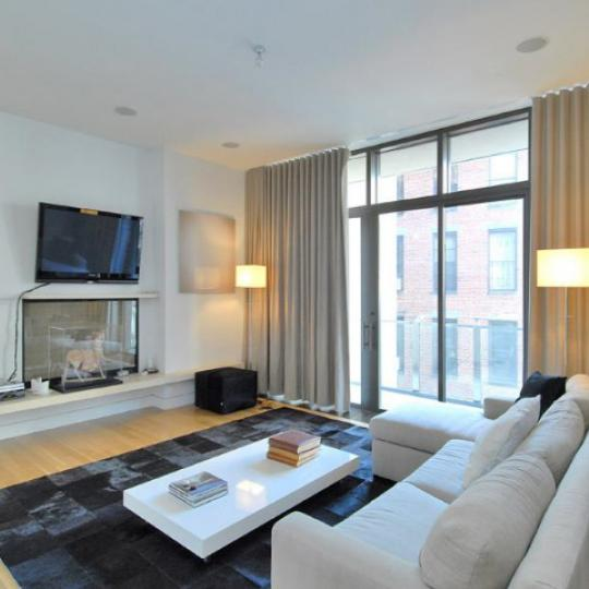 25 Bond Street Living Room - Condos for Sale
