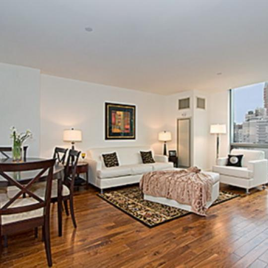 300 East 79th Street Living Room - Condos for Sale