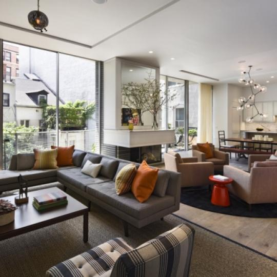 41 Bond Street Living Room - NYC Condos for Sale