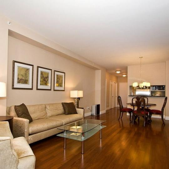 45 Park Avenue New Construction Building Living Room – NYC Condos