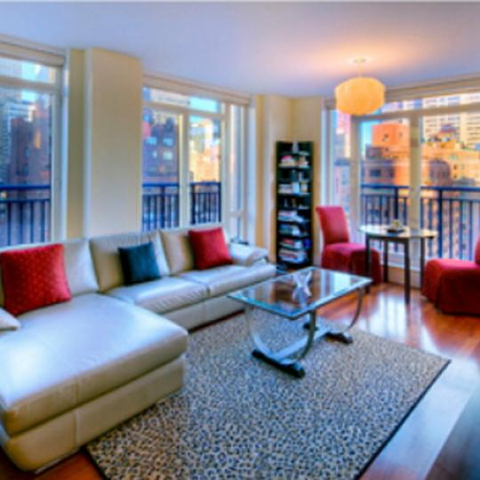 45 Park Avenue Living Room – Manhattan New Condos