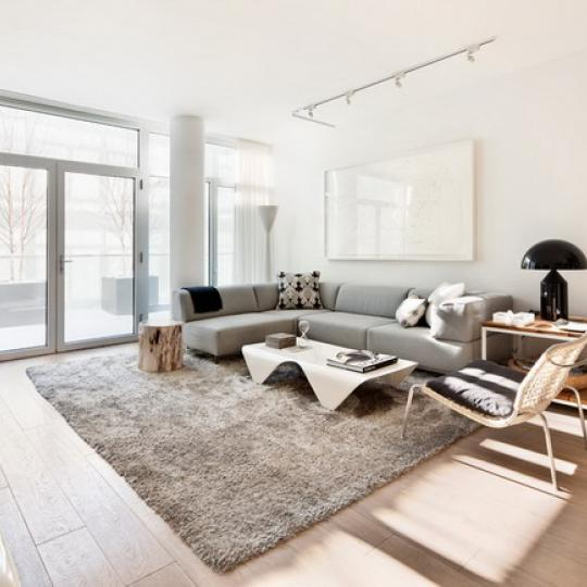 520 West Chelsea New Construction Building Living Room – NYC Condos