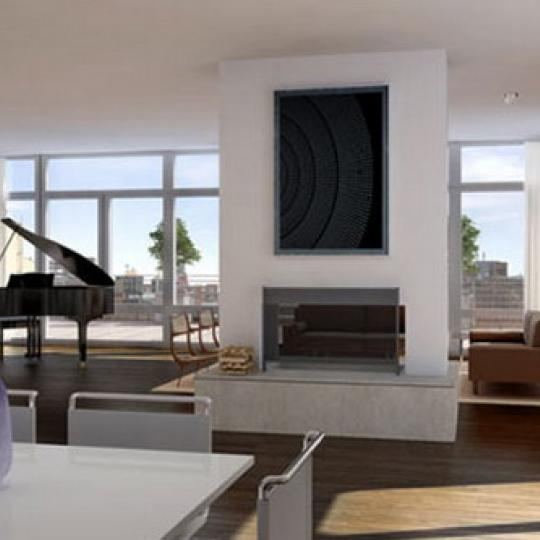 520 West Chelsea Condominiums – Living Room