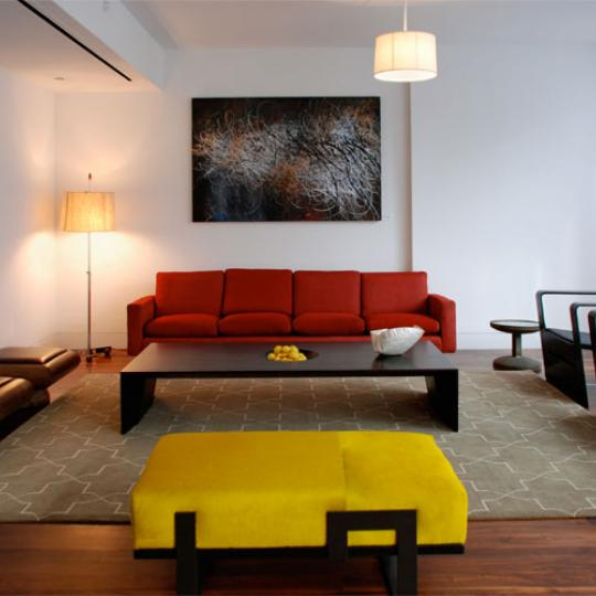 57 Irving Place New Construction Building Sitting Area - NYC Condos