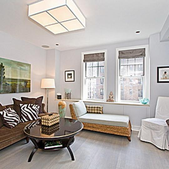 595 West End Avenue Living Room – NYC Condos for Sale