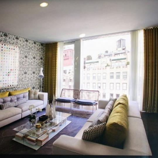949 Park Avenue Living Room - Upper East Side NYC Condominiums