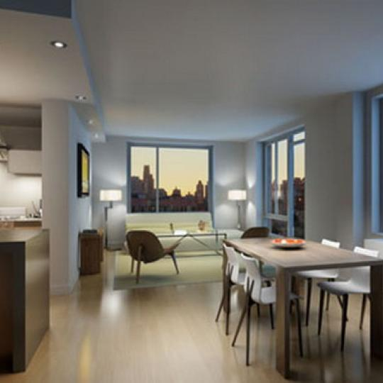 2280 FDB New Construction Building Living Room - NYC Condos