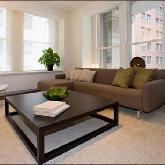 Cipriani Club Residences Manhattan - Sleek Living Room