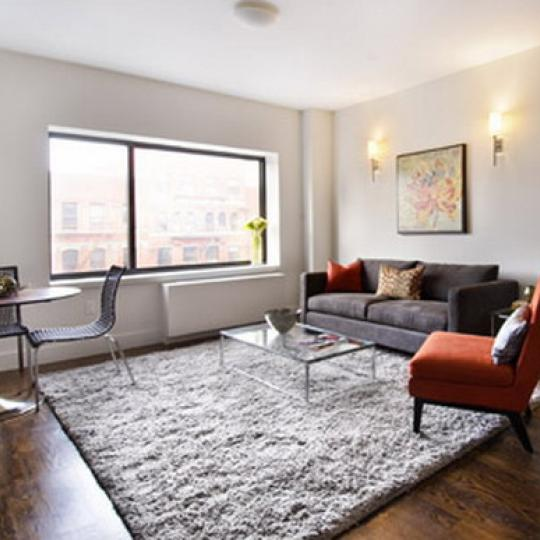 2110 Frederick Douglass Boulevard Sitting Area – NYC Condos for Sale