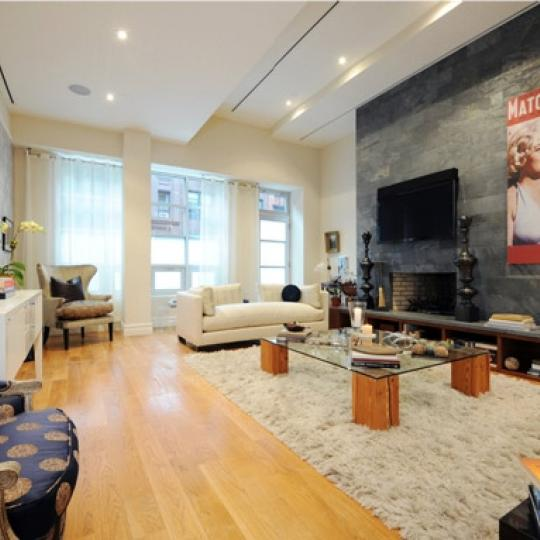The Legacy Living Room - 157 East 84th street Condos for Sale