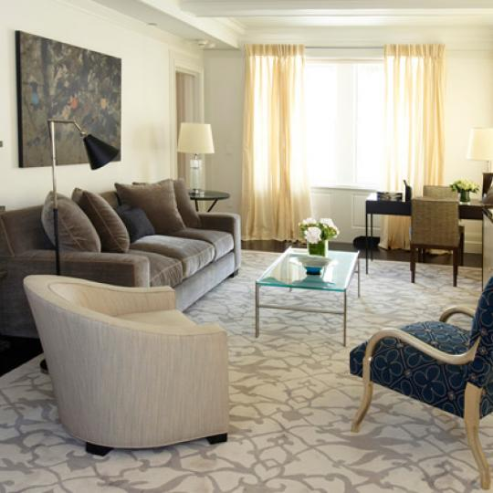The Mark Living Room - Condominiums for Sale NYC