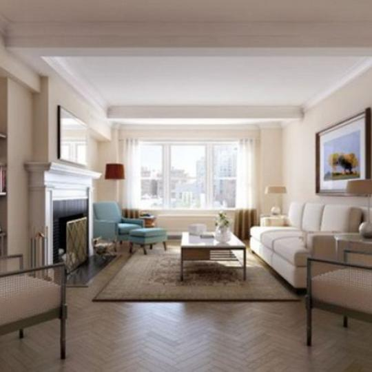 The Merritt House Condominiums - Living Room