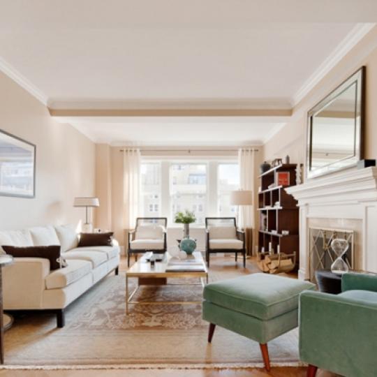 167 East 82nd Street Condominium Living Room