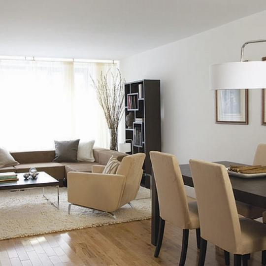 The New Yorker Condominium Living Room - Manhattan Condos for Sale