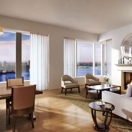 The Rushmore Living Room - New Condos for Sale NYC