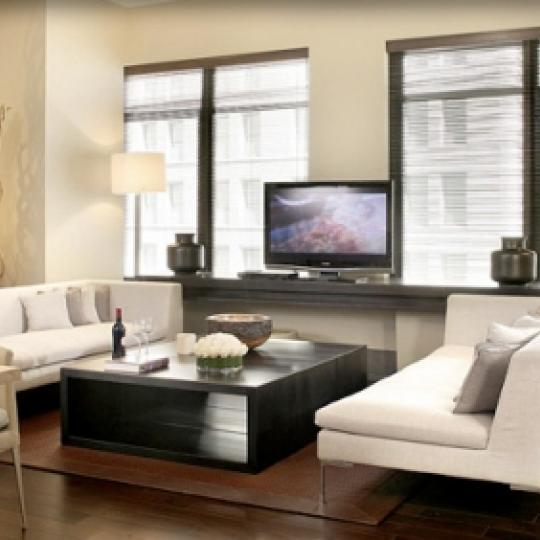 40 Broad Street Living Room - NYC Condos for Sale