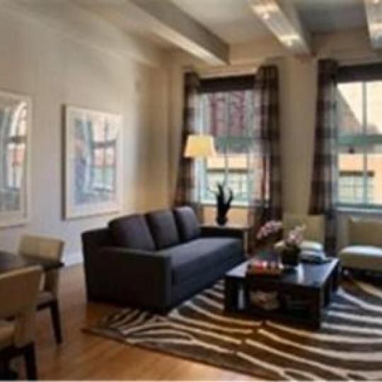 Tribeca Summit Condominiums - Living Room