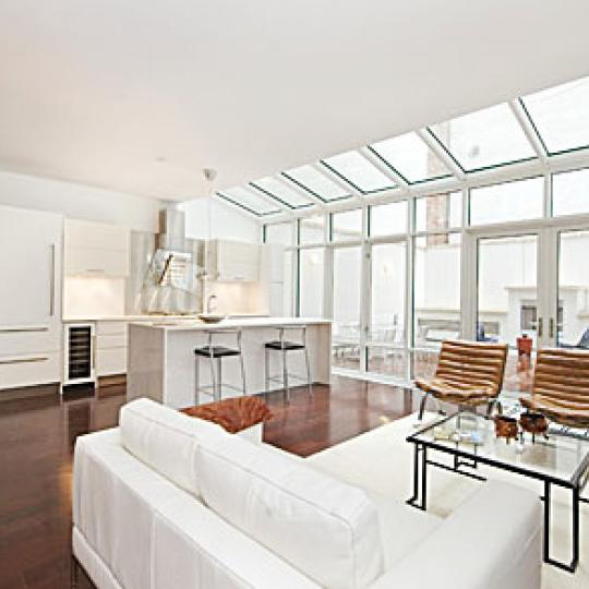 Tribeca Townhomes New Construction Building Living Room - NYC Condos