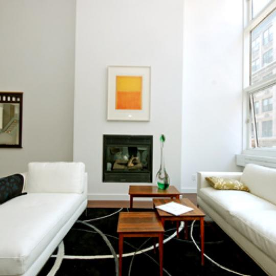 16 Warren Street Living Room - NYC Condos for Sale