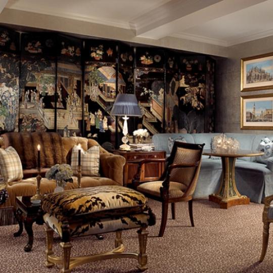 502 Park Avenue Living Room - Manhattan Condos