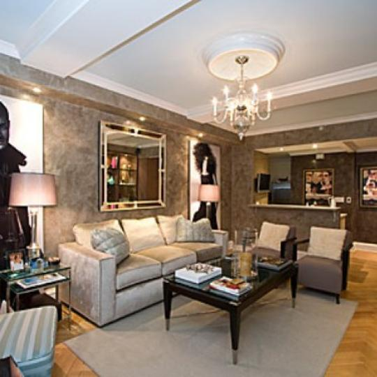 Trump Park Avenue Living Room - 502 Park Avenue Condos for Sale