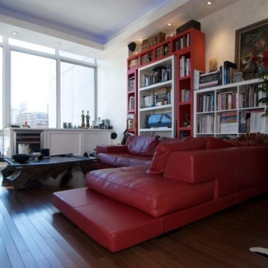 120 Riverside Boulevard Living Room - NYC Condos for Sale
