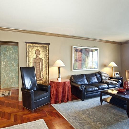 Trump Place Living Room - Condominiums for Sale NYC