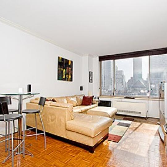 350 East 82nd Street Condominium Living Room