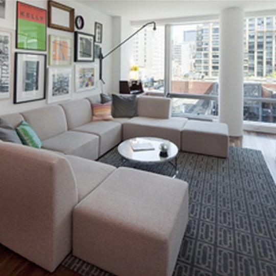 Yves Chelsea Living Room – Manhattan Condos for Sale