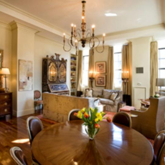 The Beekman Regent Living Room - Condominiums for Sale NYC