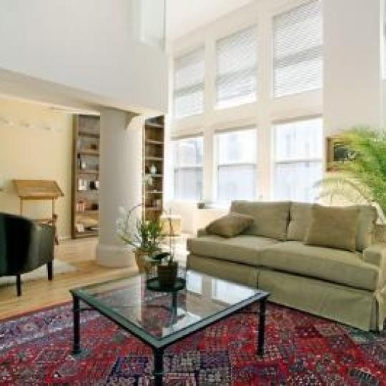 175 East Broadway Sitting Area - NYC Condos for Sale