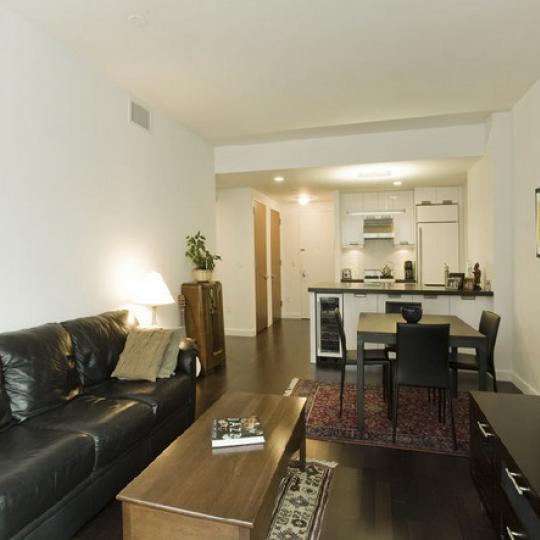The Onyx Condominiums – Living Room