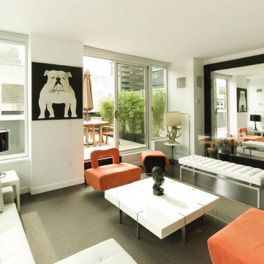 The Onyx Living Room – Condominiums for Sale NYC