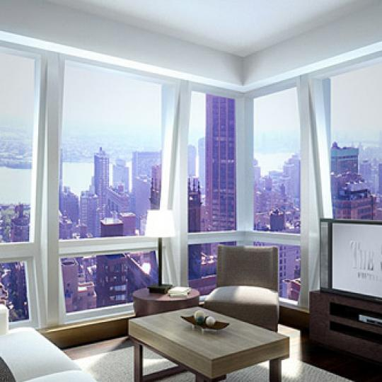 The Setai Fifth Avenue Living Room – Condominiums for Sale NYC
