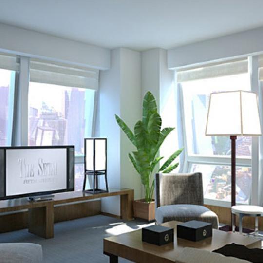 400 Fifth Avenue New Construction Condominium Living Room
