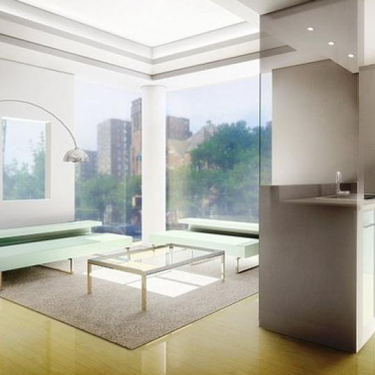 2201 Adam Clayton Powell Boulevard Living Room - Manhattan New Condos