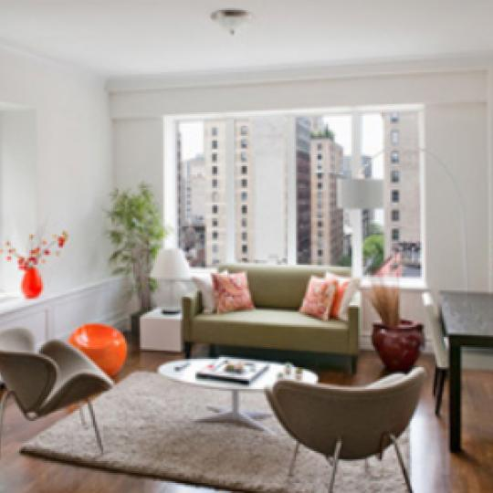 235 West 71st Street Living Room – Manhattan New Condos