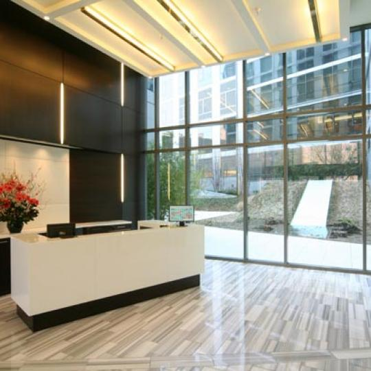200 Chambers Street Lobby - Tribeca NYC Condominiums