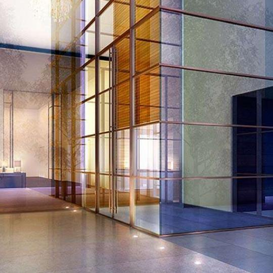 20 Pine Lobby - Financial District NYC Condominiums