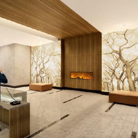 Azure Lobby - Upper East Side NYC Condominiums
