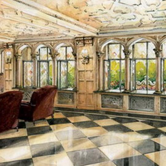 Devonshire House Lobby - Greenwich Village NYC Condominiums