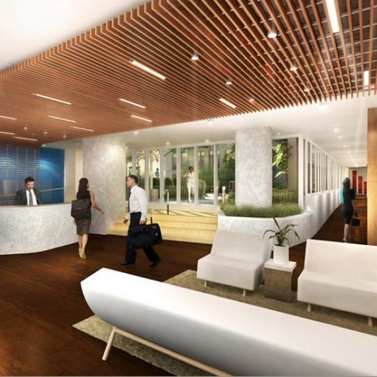 Griffin Court Lobby – Manhattan Condos for Sale