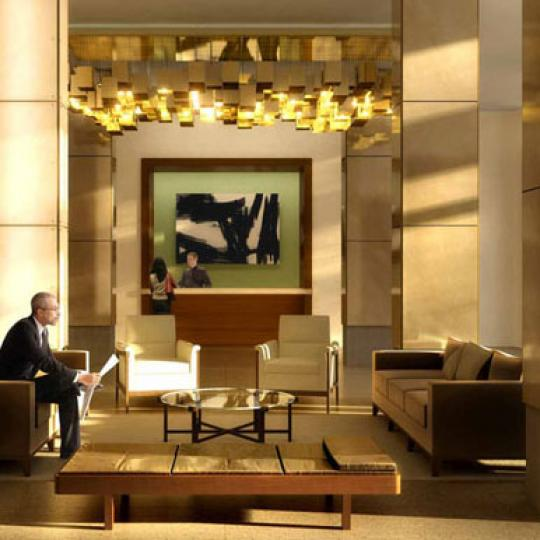 The Aldyn Lobby - Upper West Side NYC Condominiums