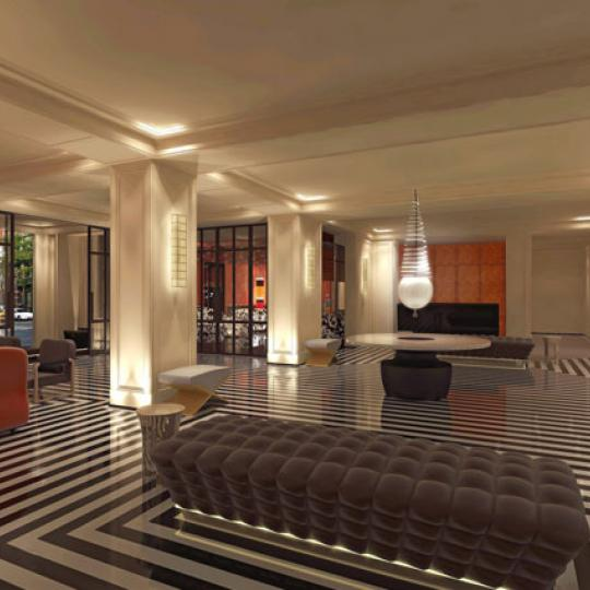 25 East 77th Street Lobby - NYC Condos for Sale