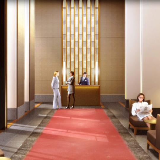 The Setai Lobby - Manhattan Condos for Sale