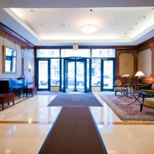 Wellington Tower Lobby - Manhattan Condos for Sale
