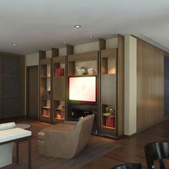 The Setai Fifth Avenue Lounge - 400 Fifth Avenue Condos for Sale