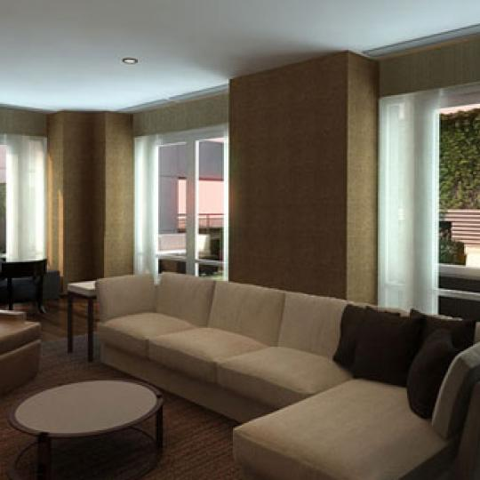 400 Fifth Avenue Condominiums – Lounge