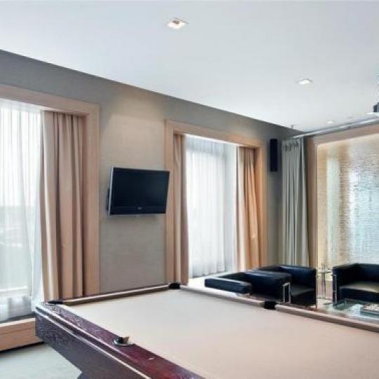 120 Riverside Boulevard Billiards Room - NYC Condos for Sale