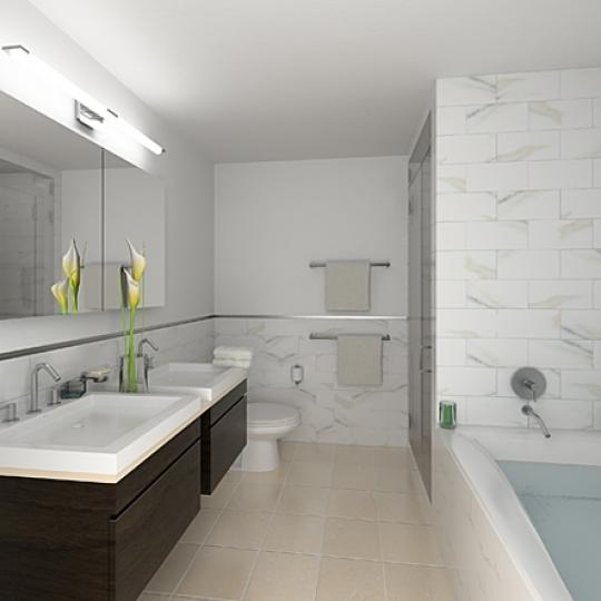 The Oculus - 50 West 15th Street - Bathroom - Manhattan Condos for Sale
